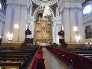 Eucaristía en el Altar Mayor de la Basílica del Pilar 12-diciembre-2017 @ Basílica Ntra. Sra. del Pilar   Zaragoza   Aragón   España