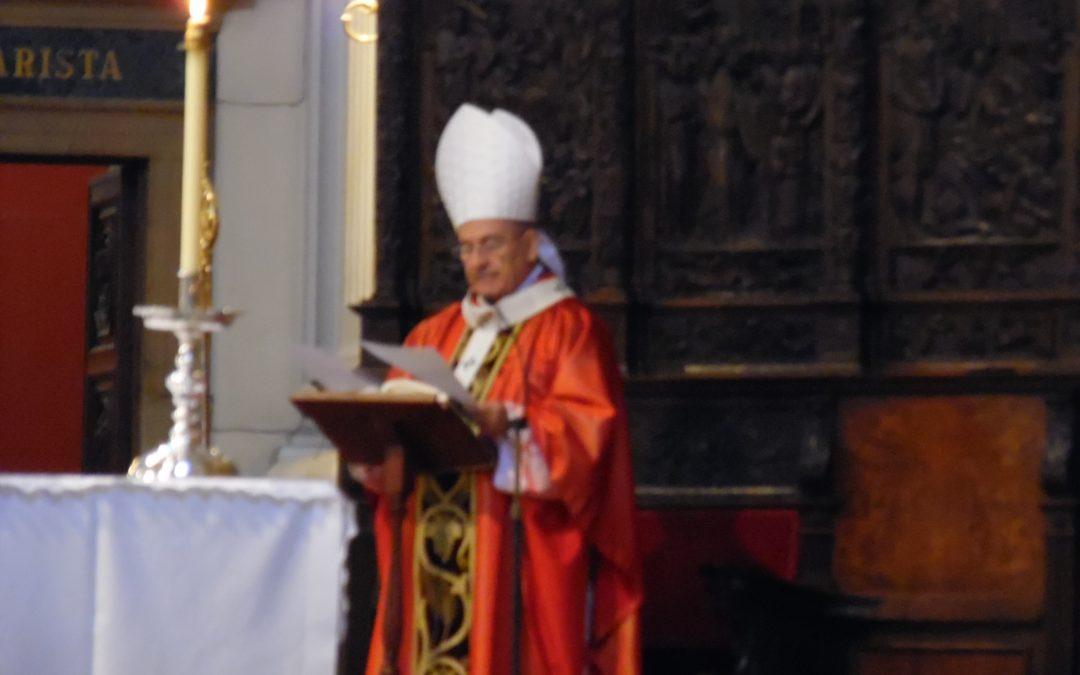 Homilía de D. Vicente Jiménez en la Eucaristía de celebración del 50 aniversario del MFC en Zaragoza