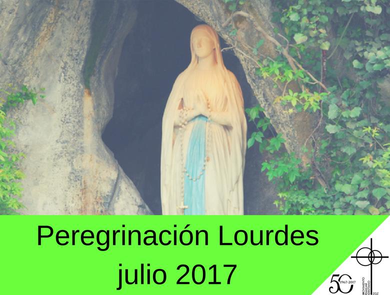 Peregrinación Lourdes 2017